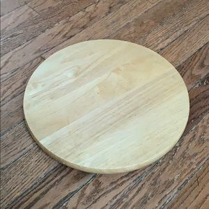 Wooden Turn Table Lazy Susan